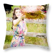 Throw Your Hat Into The Ring Throw Pillow