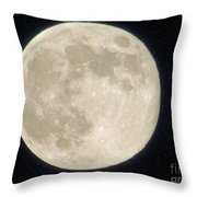 Thunder Moon Throw Pillow