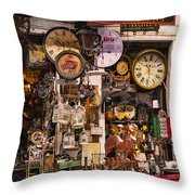 Time Waits For No Man Throw Pillow