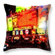Times Square - New York Throw Pillow