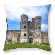 Titchfield Abbey Throw Pillow