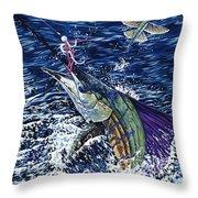 Top Sail Throw Pillow