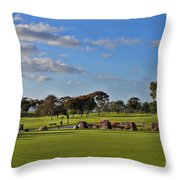 Torrey Pines Golf Course Throw Pillow