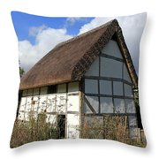 Traditional Cottage Sussex Uk Throw Pillow