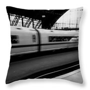 Train Station, Cologne, Germany Throw Pillow