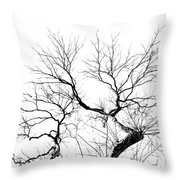 Tree Impression #11 Throw Pillow