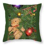 Tree Of Toys Throw Pillow