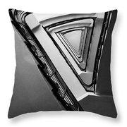 Triangle Staircase Throw Pillow