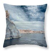 Trinidad Shoreline Throw Pillow