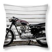 Triumph Trophy Tr6r 1961 Throw Pillow