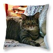 Tubby Throw Pillow
