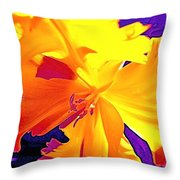 Tulip 6 Throw Pillow
