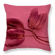 Tulip Lover Throw Pillow