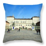 Turin Palazzo Reale Throw Pillow