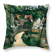 Turn In The Road Throw Pillow