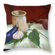 Tuscan Table Throw Pillow