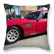 TVR Throw Pillow