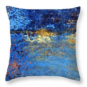 Twilight Reflections By The Lake Throw Pillow