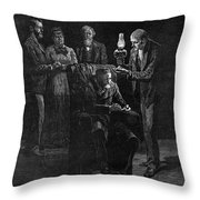 Ulysses S Throw Pillow