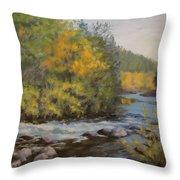 Umpqua Fall Throw Pillow