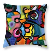 Uncertainty Principle Throw Pillow