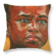 Uncertainty Throw Pillow