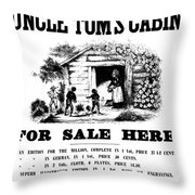 Uncle Tom's Cabin, C1860 Throw Pillow