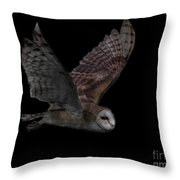 Under The Cover Of Darkness Throw Pillow