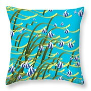 Underwater Life Throw Pillow