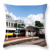 Union Station Dallas Texas Throw Pillow