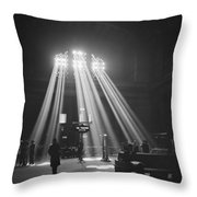 Union Station In Chicago Throw Pillow