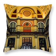 Union Station Lobby Large Size Throw Pillow