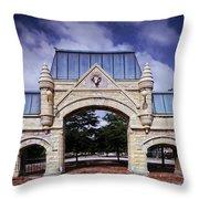 Union Stock Yard Gate - Chicago Throw Pillow