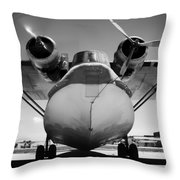 United States Navy Pby Catalina 1942 Throw Pillow