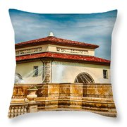 Unity Village And Fountain Throw Pillow