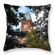 University Hall  Throw Pillow