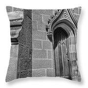 University Of Sydney-door Throw Pillow