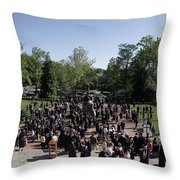 University Of Virginia Graduation Throw Pillow