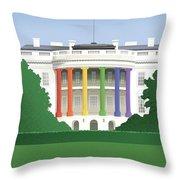 Spectrum Of Light Throw Pillow