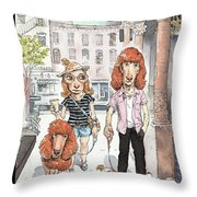 New Yorker June 27th, 2011 Throw Pillow