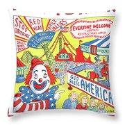 New Yorker September 24th, 2012 Throw Pillow