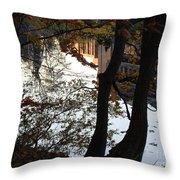 Up River Throw Pillow