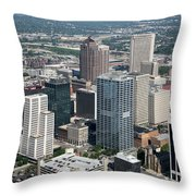 Uptown District Throw Pillow