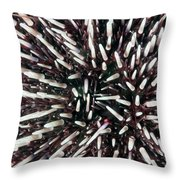 Urchin Spines Throw Pillow