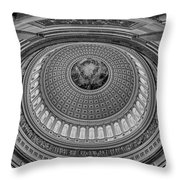 Us Capitol Rotunda Throw Pillow