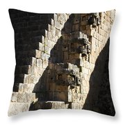 Uxmal Maya Ruins Throw Pillow