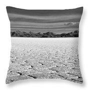 Uyuni Salt Falt Pattern Throw Pillow