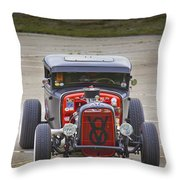 V8 Throw Pillow