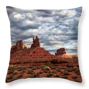 Valley Of The Gods II Throw Pillow