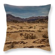 Valley Of The Names Throw Pillow by Robert Bales